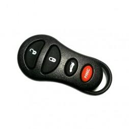 Κέλυφος Κλειδιού Chrysler για Control με 4 Κουμπιά