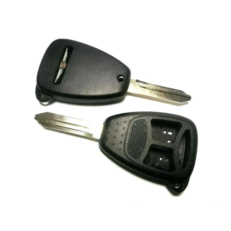 Κέλυφος Κλειδιού Chrysler με 3 Κουμπιά και Λάμα Y160 TYPE 1