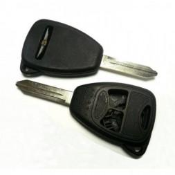 Κέλυφος Κλειδιού Chrysler με 3 Κουμπιά και Λάμα Y160 TYPE 3