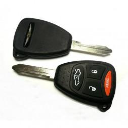 Κέλυφος Κλειδιού Chrysler με 4 Κουμπιά και Λάμα Y160 Type 2