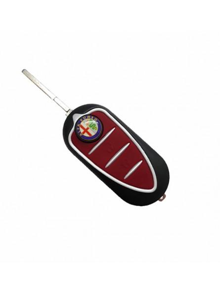 Κέλυφος Κλειδιού Αυτοκινήτου Alfa Romeo (MiTo, Giulietta) με 3 Κουμπιά Αναδιπλούμενο