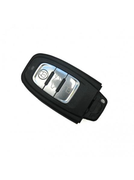 Κέλυφος Κλειδιού Audi για το Smart Key με 3 Κουμπιά και Λάμα HU66