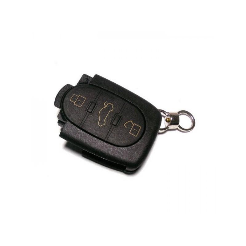 Κέλυφος Κλειδιού Audi με 3 Κουμπιά και Υποδοχή για 1 Μπαταρία