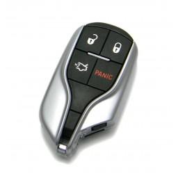 Original Τηλεχειριστήριο Maserati με 4 Κουμπιά (Με Κουμπί Πανικού) Smart Key (Keyless)