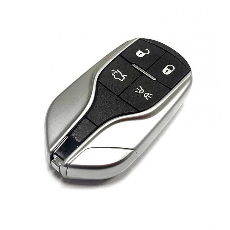 Κέλυφος Κλειδιού Maserati με 4 Κουμπιά Smart Key (Keyless)