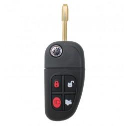 Κέλυφος Κλειδιού Jaguar με 4 Κουμπιά και Λάμα TBE1