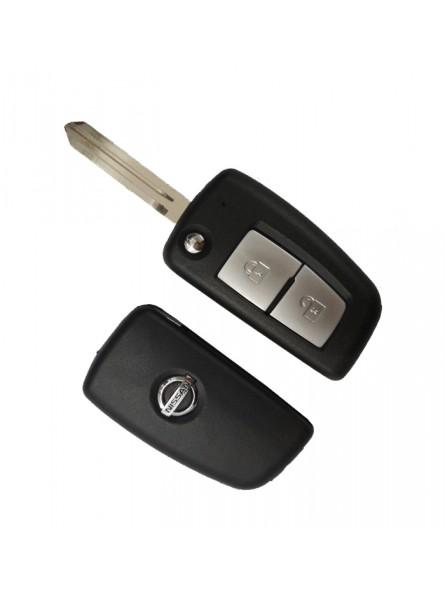 Κέλυφος Κλειδιού Nissan με 2 Κουμπιά και Λάμα NSN14
