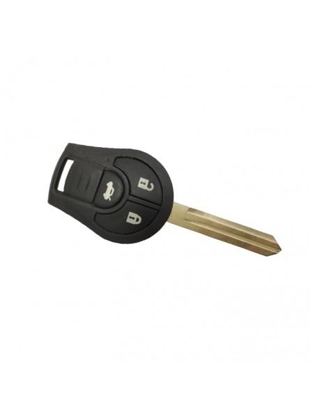 Τηλεχειριστήριο Nissan με 3 Κουμπιά και PCF 7936 Chip