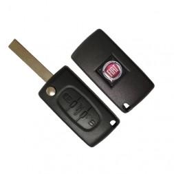 Κέλυφος Κλειδιού Fiat με 3 Κουμπιά και Λάμα HU83
